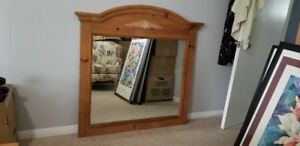 Mirror Solid Pine
