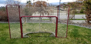 Hockey Net with Backstop (72-in)