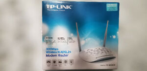 TP Link 300Mbps Wireless ADSL2+Modem router