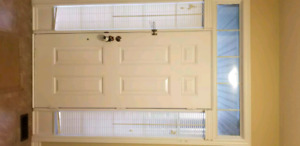 Composite Wood  Blind for front door
