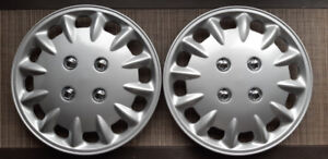 "*NEUF* Cap de Roue 14"" (Enjoliveurs) 2 mcx/14"" Wheel covers 2 pc"