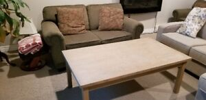 Sofabed, Loveseat and Table (as a set)