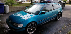 Honda crx 1991 parfais pour un projet / perfect for a project