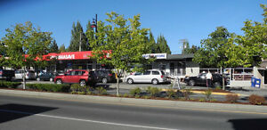 Central Brentwood Bay retail space  available July 1