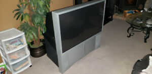 "46"" old school sony tv"