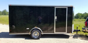 "New 6X15'6"" 2019 ""V"" Nose Cargo Trailer  3500 lbs  8 10 12 7 16"