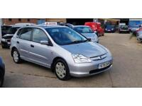 Honda Civic 1.6i VTEC SE 110Bhp Delivery & warranty available Part-Ex welcome