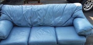 Leather Couch - Sofa and Leather Recliner