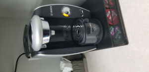 Bosch Tassimo Coffee machine with generic tdisc for hot water