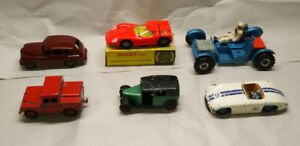 Early Dinky Toys diecast cars