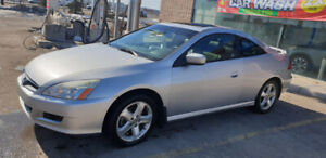 2007 Honda accord EX-L couple V6