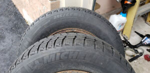 MICHELIN XICE Winter Snow Tires with Rims