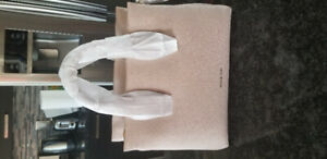 Brand New Michael Kors Rollins Pebbled Satchel