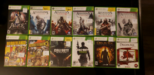 Various Xbox 360 games for sell