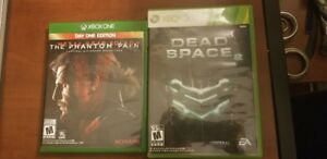 Dead Space 2 (Backwards Compatible) and Metal Gear Solid V