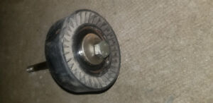 USED Belt Tensioner Pulley and Bolt 11281748131 FITS BMW
