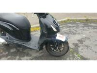 Honda PES125 PS 125 auto drive moped motorcycle scooter only 999 no offers