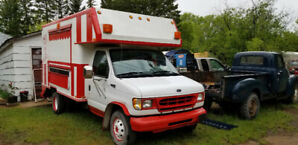 Ford E350 food truck diesel