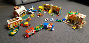 FISHER PRICE 1960-1970's TOYS