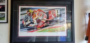 Limited Edition Print Kevin Shwantz Lucky Strike
