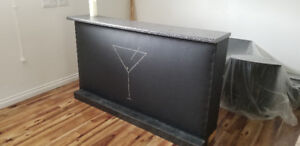 Leather stand up bar