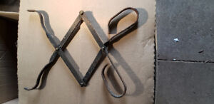 SCISSOR TONGS FOR FIRE PLACE OR WOOD STOVE