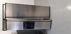 SS Fridge,, gas stove, electric oven insert