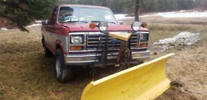 86 Ford plow truck, 302 efi,4x4 yard truck only. Glassville.
