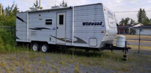 Wildwood 2010 Travel Trailer 23 foot T23BH bunks