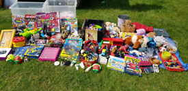 Carboot joblot toys games books ect