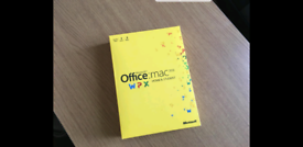 Microsoft Office Mac 2011 Home and Student, Full UK DVD Retail box for sale  West End, London