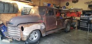 1953 Chevy p/u rolling project