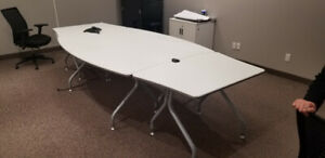 Beautiful, Modern Multi-Function Boardroom Table $400