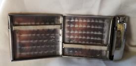 Vintage cigarettes HOLDER and lighter in one