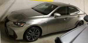 Lease takeover- 2018 Lexus IS 350 Full AWD - $786