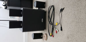 4.1 Home Theatre POLK Audio on SALE(4 Speakers   1 SubWoofer)
