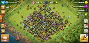 RARE Clash of Clans》TH9 + Builder Base