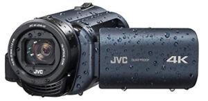 4K!! JVC Camcorder Everio Waterproof! NEUF !!!!!!!