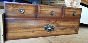 Twin captain bed, 3 drawers