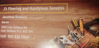 J's Flooring and  Handyman services