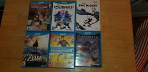 Wii U with 7 games included