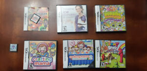 Assorted Nintendo DS Games
