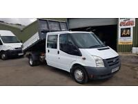 Ford Transit T350 Crew Cab / Double Cab Tipper **NO VAT To Add**