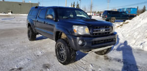 2010 Toyota Tacoma TRD V6 4x4 double cab with canopy
