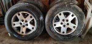 Ford escape used Tires and Alloy stock rims  Bolt on ready to go