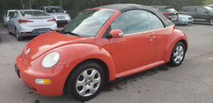 2003 VW Beetle Convertible *** POWER OPTS, AC, CRUISE ***