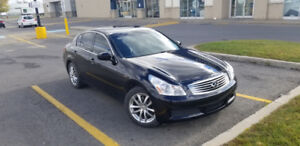 2009 INFINITI G37X. $11,400. Negotiable 90000km. Premiu Package.