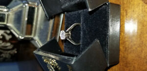 1.54 ct. Solitaire diamond ring.