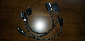 VW and Audi Audio MDI Cables for USB an Apple