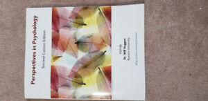 Perspectives in Psychology Second Custom Edition (Ryerson)